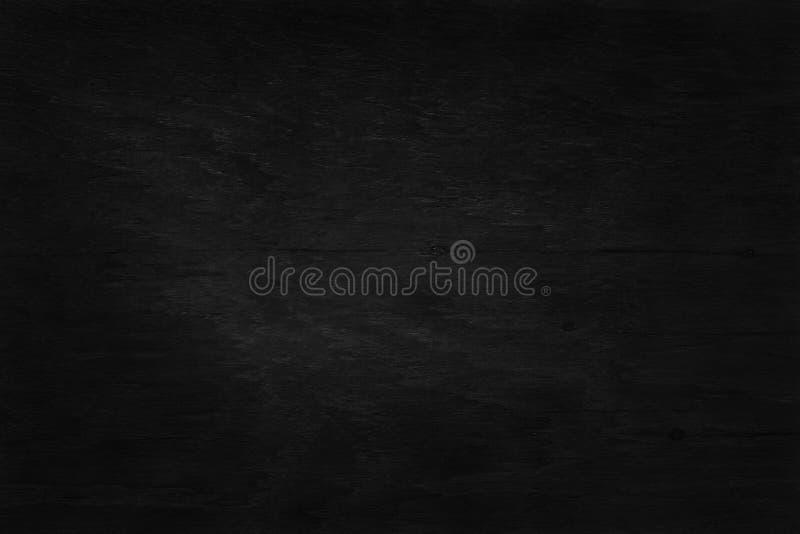 Zwarte houten muurachtergrond, textuur van donker schorshout met oud natuurlijk patroon stock afbeeldingen