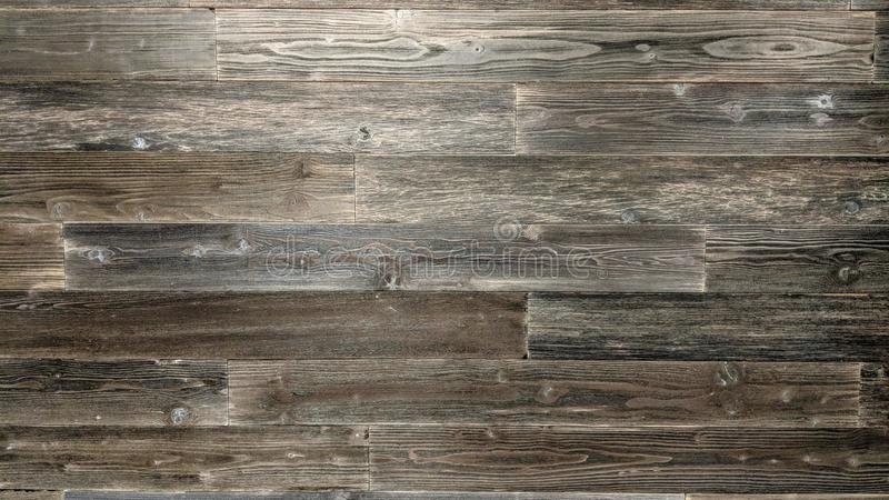 Zwarte houten planken op een muur vector illustratie