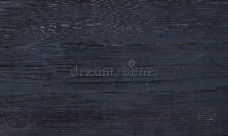 Zwarte houten textuur royalty-vrije stock afbeeldingen