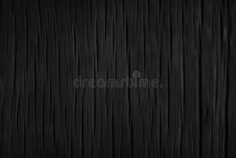 Zwarte houten textuur zwarte achtergrond Spatie voor ontwerp royalty-vrije stock afbeelding
