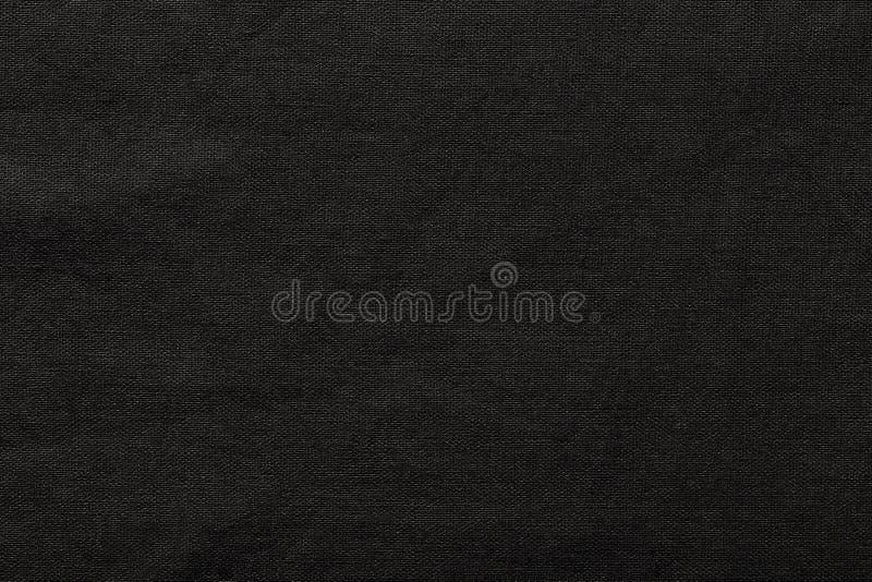Zwarte juteachtergrond en textuur royalty-vrije stock foto