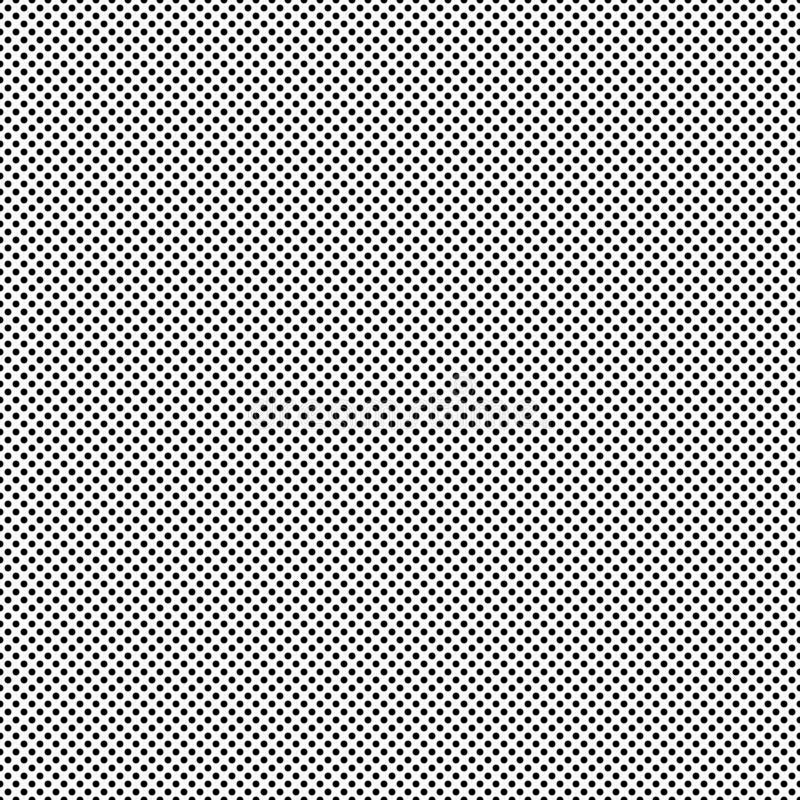 Zwarte Kleine Polka Dot Pattern Repeat Background stock foto's
