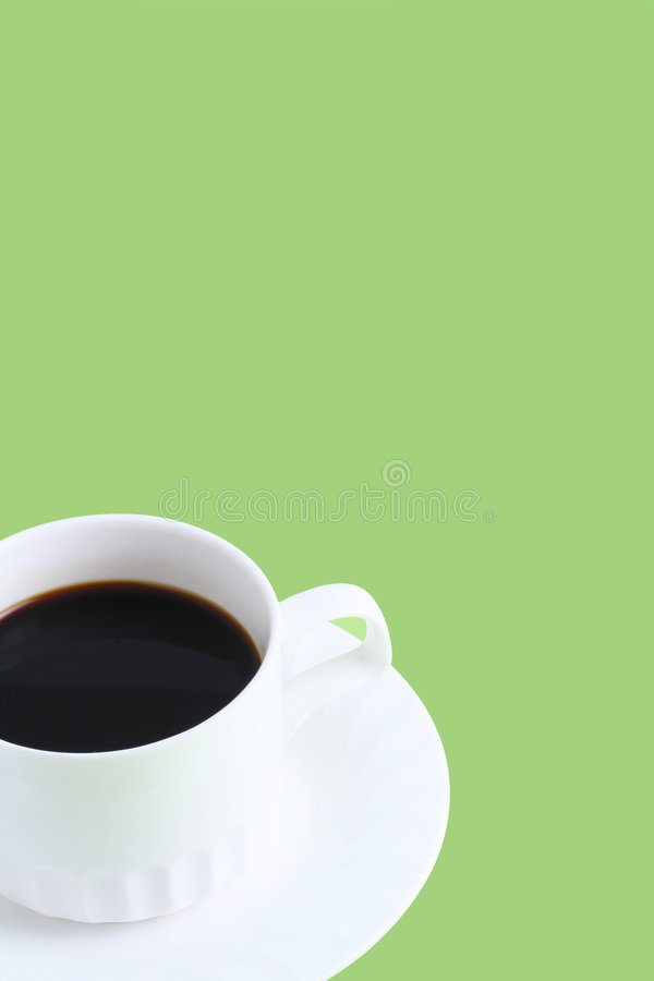 Zwarte koffie stock afbeeldingen