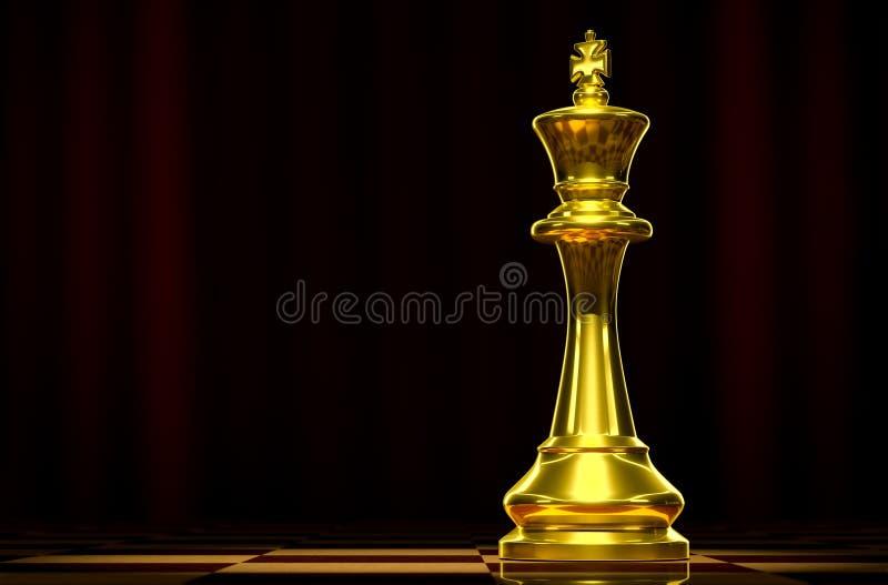 Zwarte koning royalty-vrije stock afbeelding