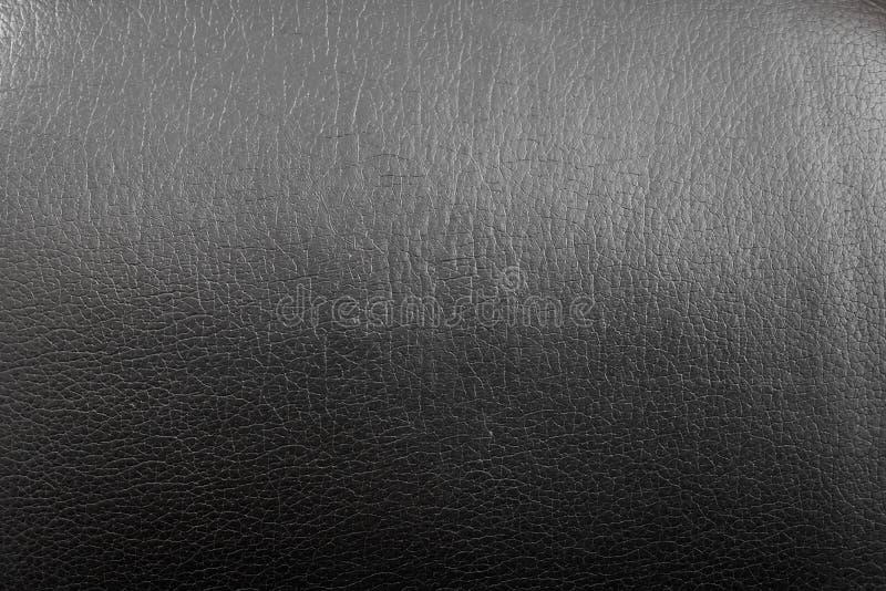 Zwarte kunstmatige huidtextuur met gradiënt en overgang van dark naar licht stock afbeeldingen