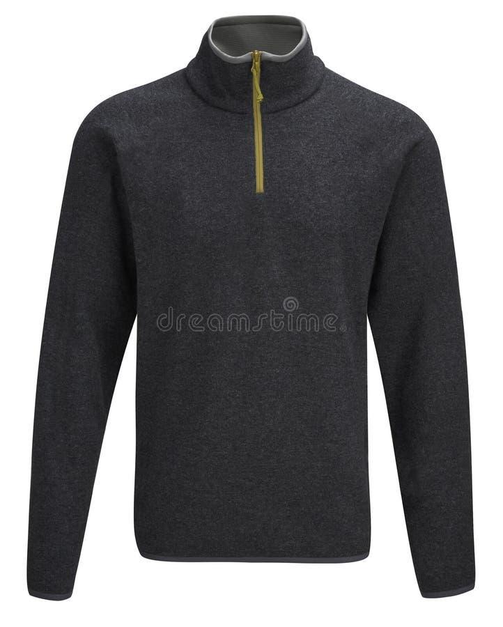 Zwarte mannelijke sweater royalty-vrije stock foto