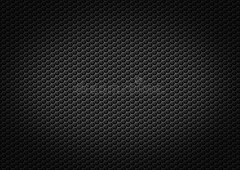 Zwarte Metaaltextuur stock afbeelding