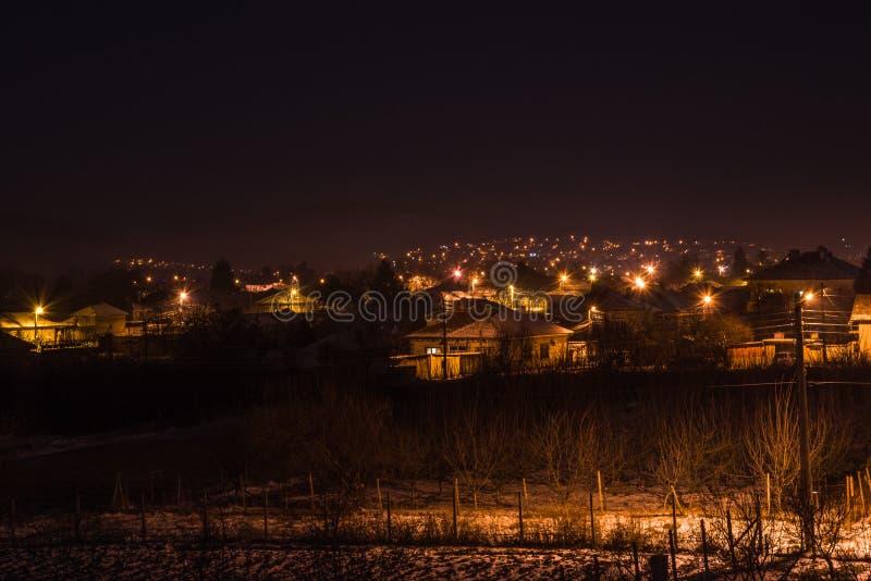 Zwarte Nacht stock foto