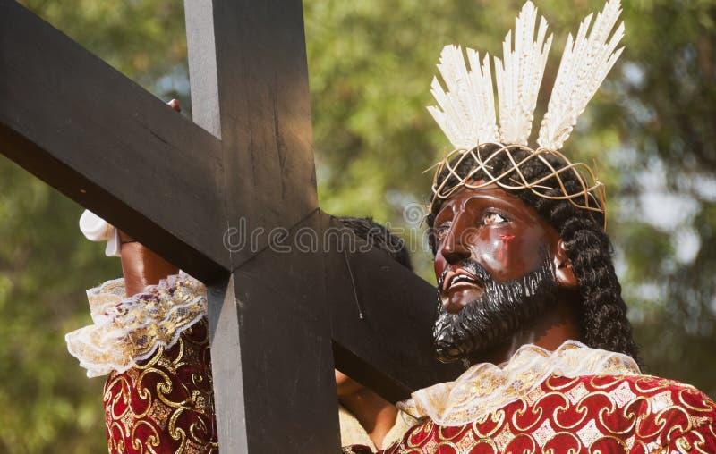 Zwarte Nazarene royalty-vrije stock foto's