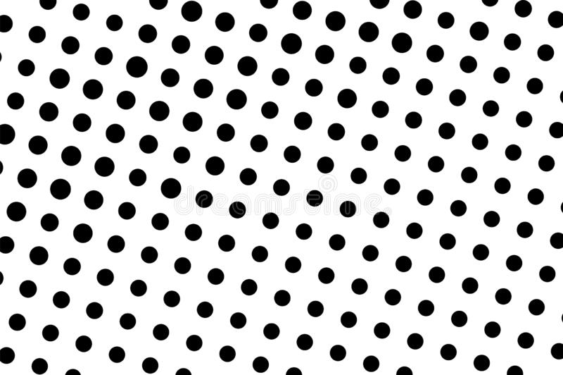 Zwarte op witte halftone vectortextuur Digitaal stipornament Dun dotwork uitstekend effect vector illustratie