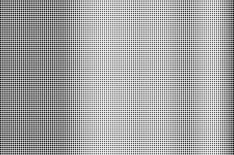 Zwarte op witte subtiele halftone textuur Gestippelde vectorachtergrond Verticale dotworkgradiënt Zwart-wit halftone bekleding stock illustratie