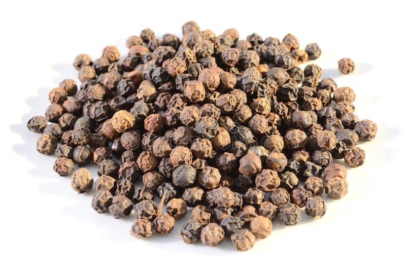 Zwarte peperbollen royalty-vrije stock foto