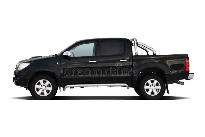 Zwarte pick-up