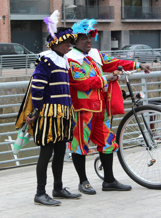 Zwarte Piet immagini stock