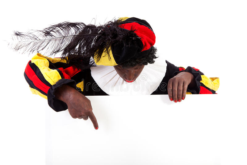 Download Zwarte Piet ( Black Pete) Typical Dutch Character Stock Photo - Image: 21872938