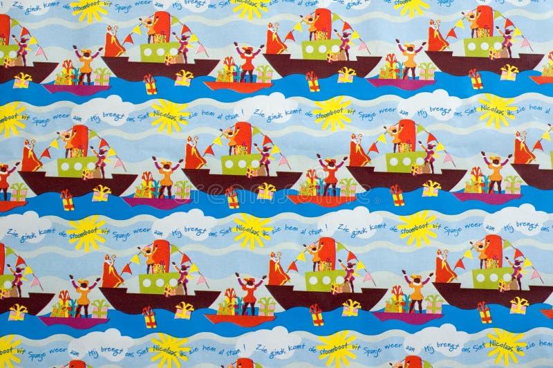 Zwarte Piet Hintergrund lizenzfreies stockfoto