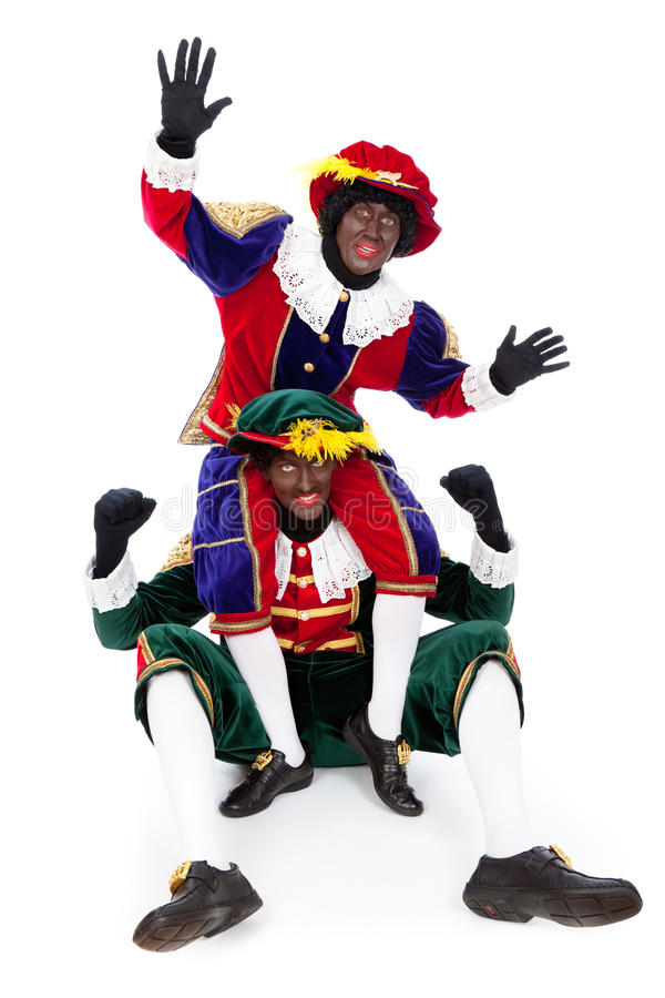 Download Zwarte Piet Sinterklaas (black Pete) Stock Image - Image: 34136233
