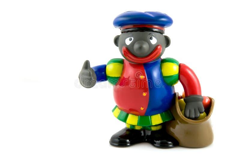 Zwarte Piet, una tradizione olandese fotografia stock