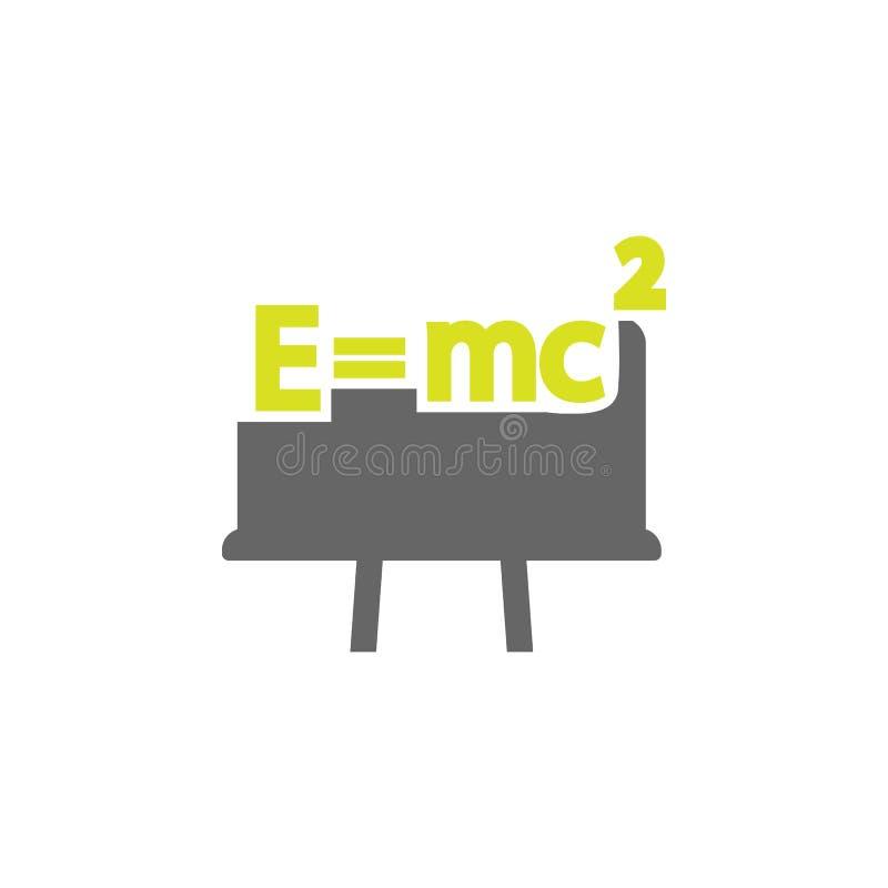 Zwarte raad, wetspictogram Element van het pictogram van het Wetenschapsexperiment voor mobiele concept en webtoepassingen De ged vector illustratie