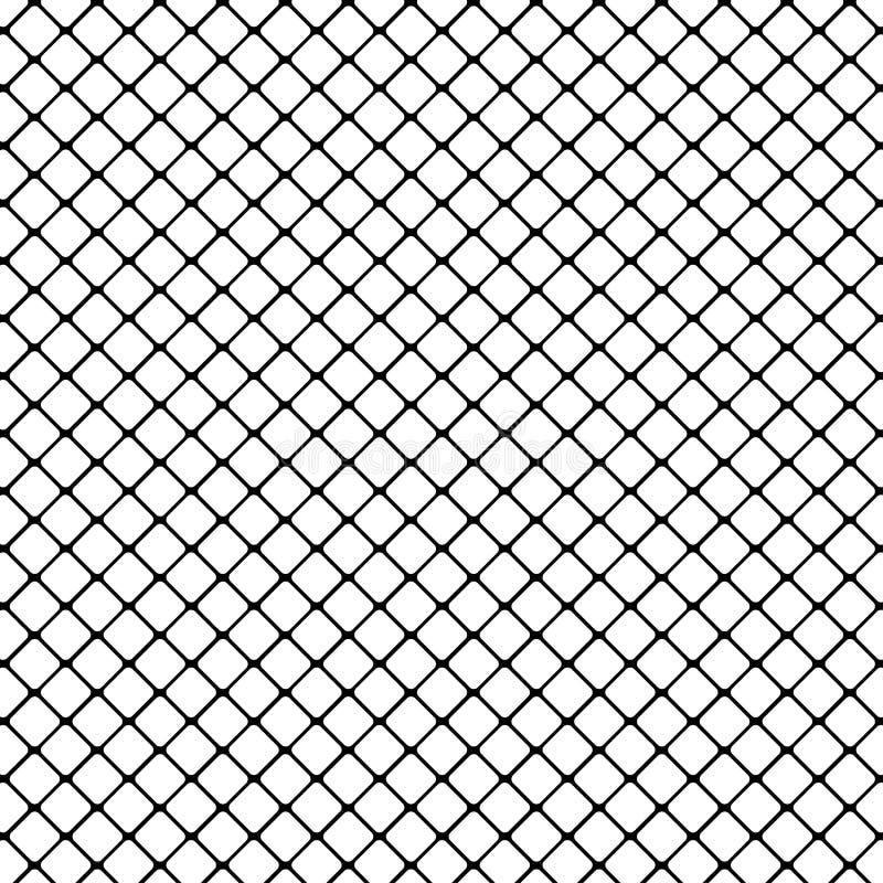 Zwarte rond gemaakte vierkante opening op witte vector als achtergrond vector illustratie