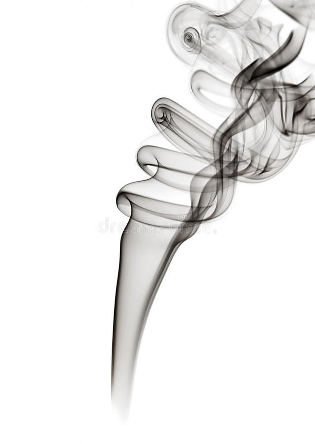 Zwarte rook royalty-vrije stock afbeeldingen