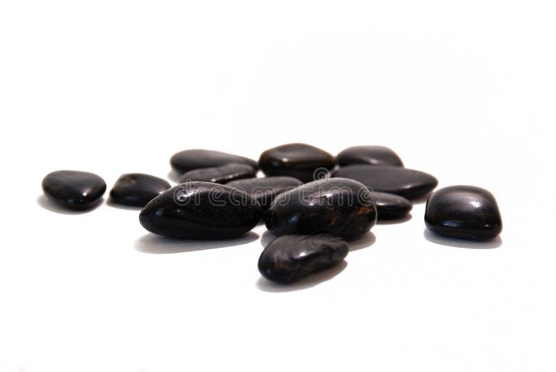 Zwarte rotsen stock foto's