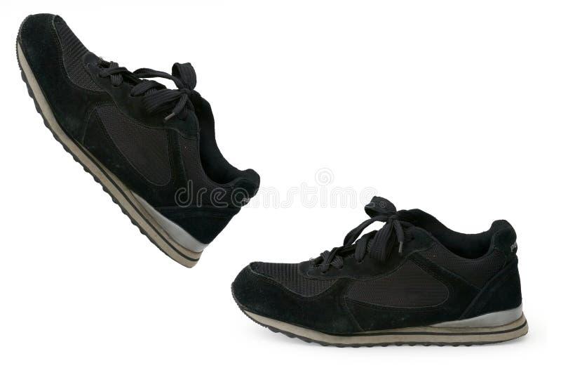 Zwarte schoenen stock foto
