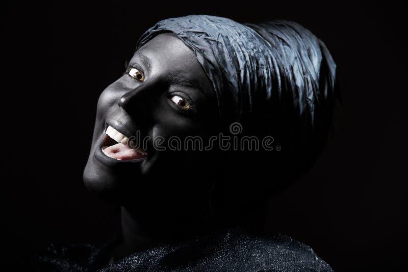 Zwarte schoonheid stock foto's