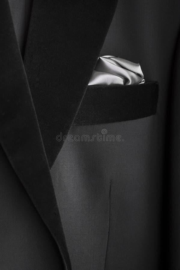 Zwarte smoking royalty-vrije stock fotografie