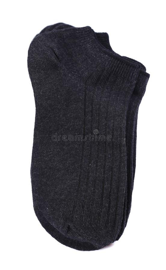 Zwarte sokken stock fotografie