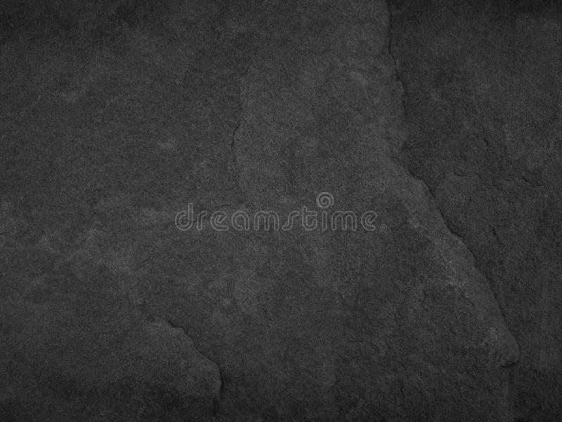 Zwarte steen, de achtergrond van de leitextuur stock afbeelding