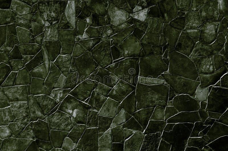 Zwarte steenmuur royalty-vrije stock afbeelding