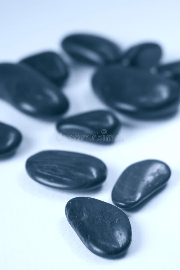 Zwarte stenen stock fotografie