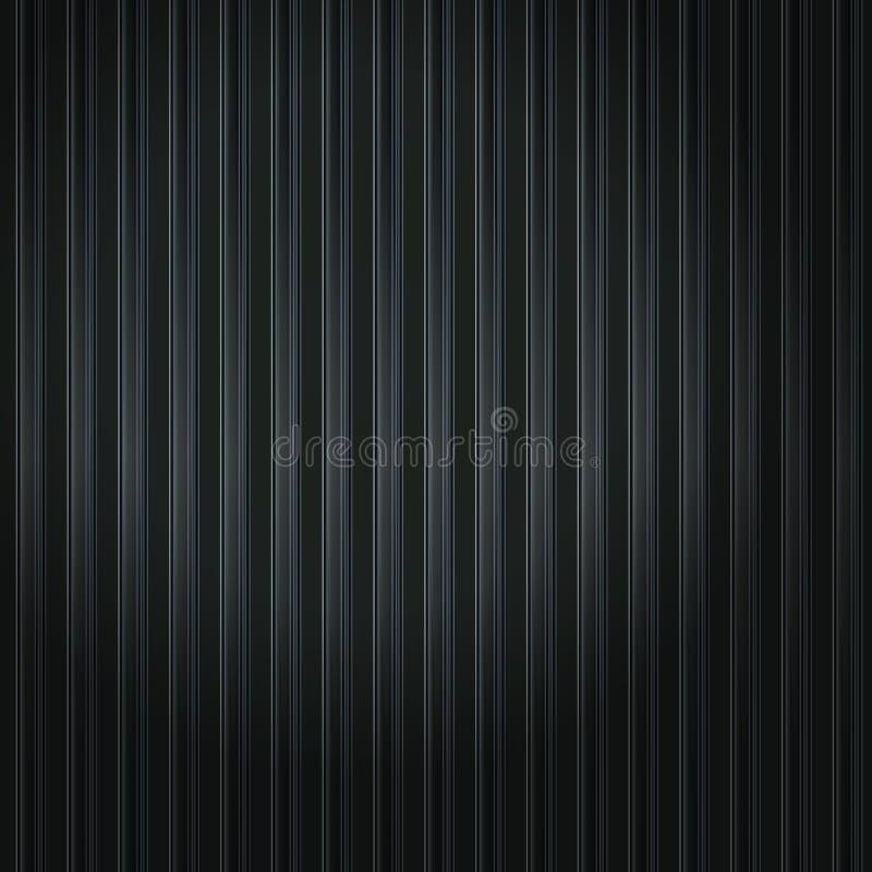 Zwarte strepen stock illustratie