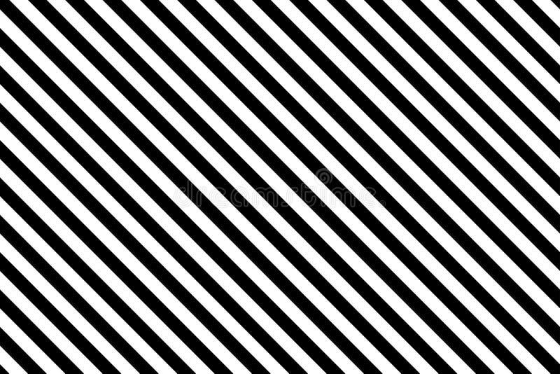 Zwarte strepen op witte achtergrond royalty-vrije illustratie