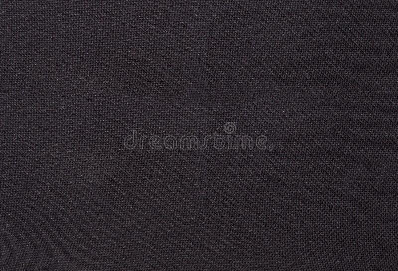 Zwarte textielstof stock foto's