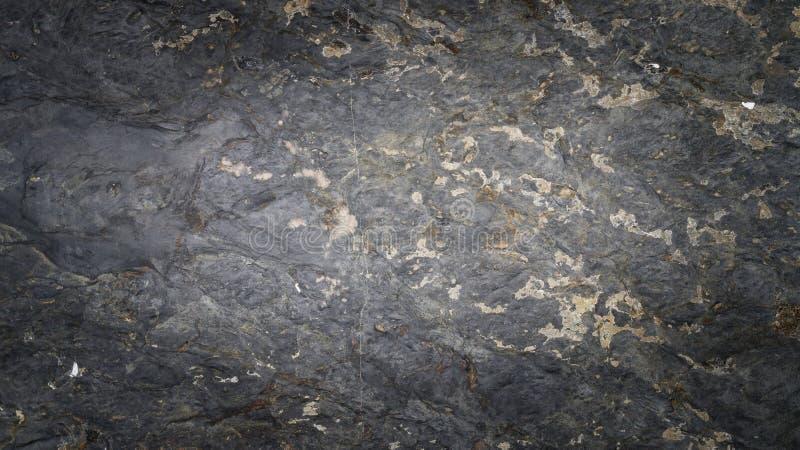 Zwarte textuur van de rots stock afbeelding