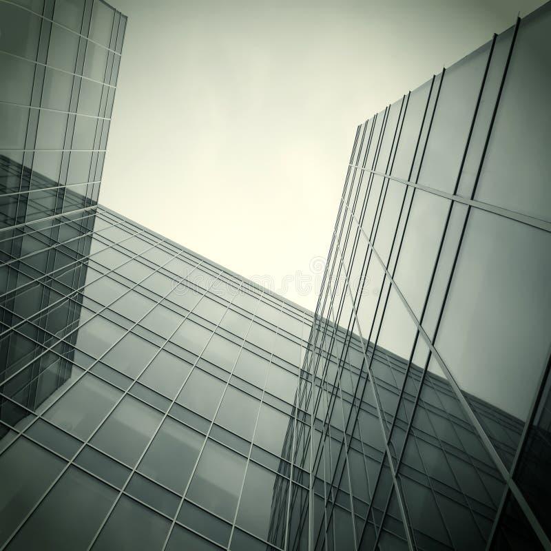 Zwarte textuur van modern glas royalty-vrije stock afbeelding