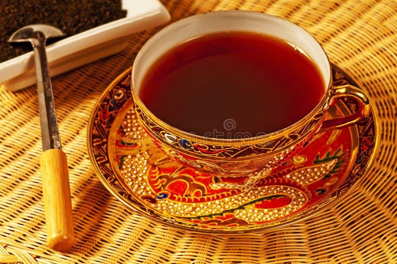 Zwarte thee van Ceylon royalty-vrije stock afbeelding