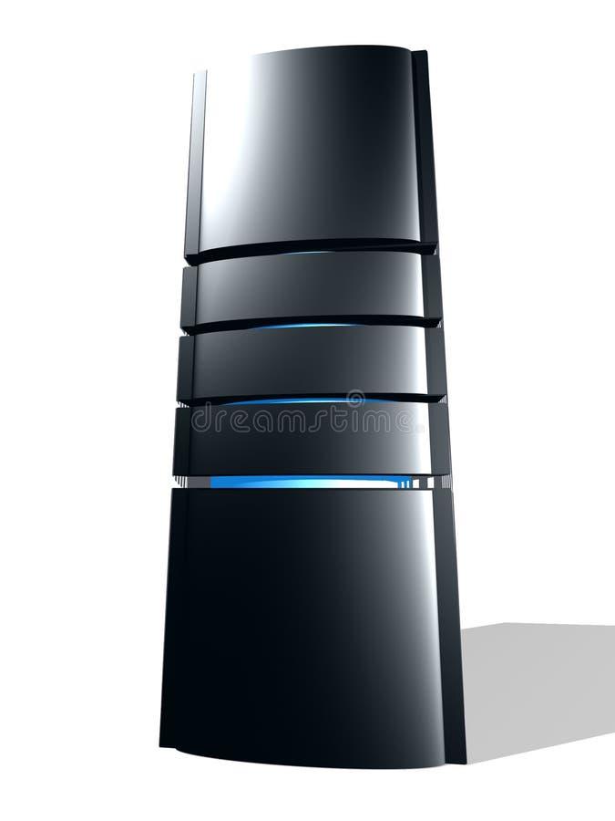 Zwarte toren stock illustratie