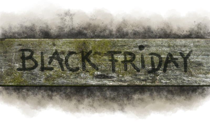 Zwarte vrijdag royalty-vrije stock afbeelding