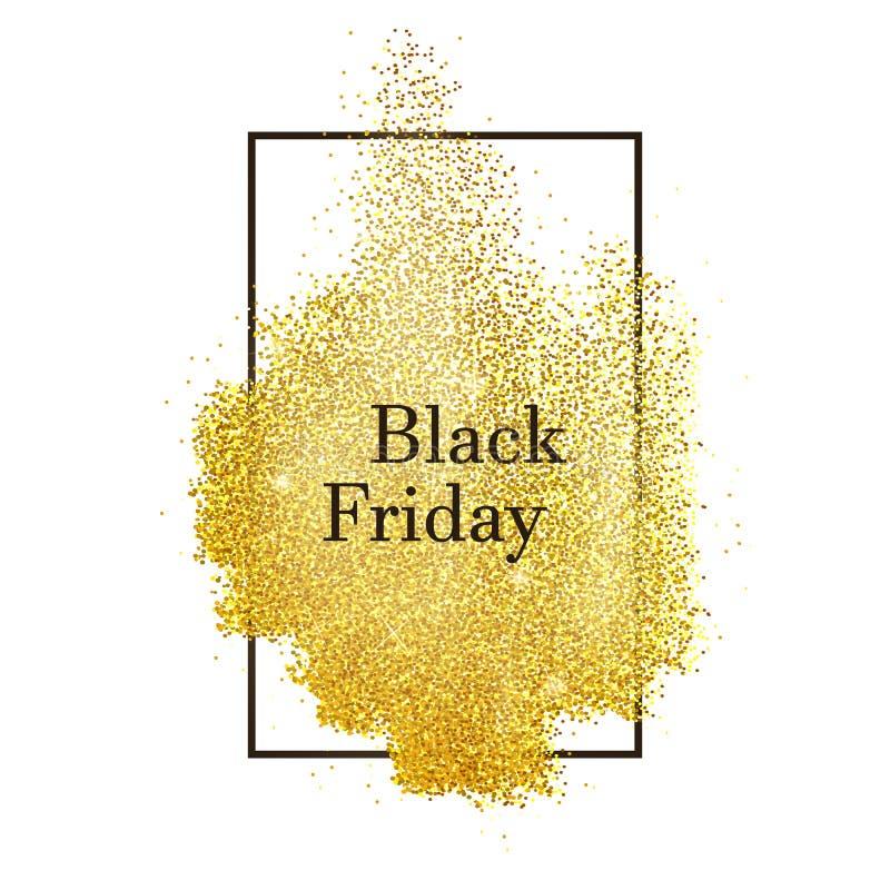 Zwarte vrijdagverticaal vector illustratie
