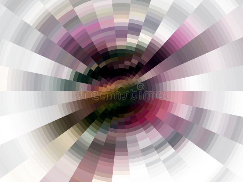 Zwarte witte purpere fonkelende achtergrond, grafiek, abstracte achtergrond en textuur royalty-vrije illustratie