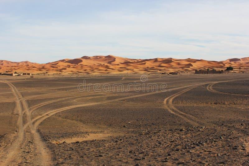 Zwarte Woestijn stock afbeeldingen