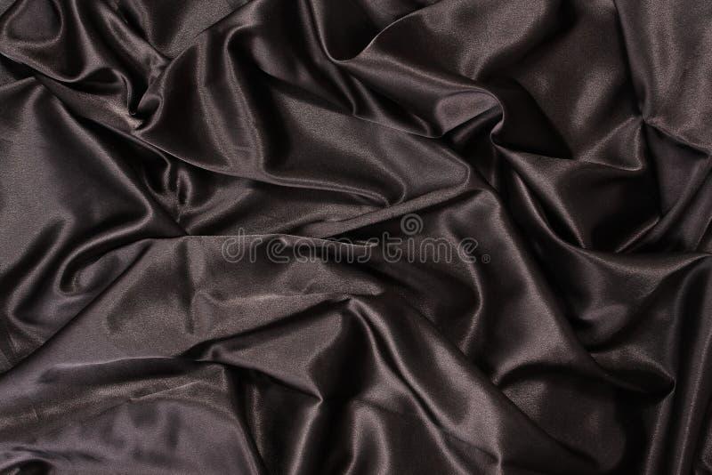 Zwarte zijde stock foto's