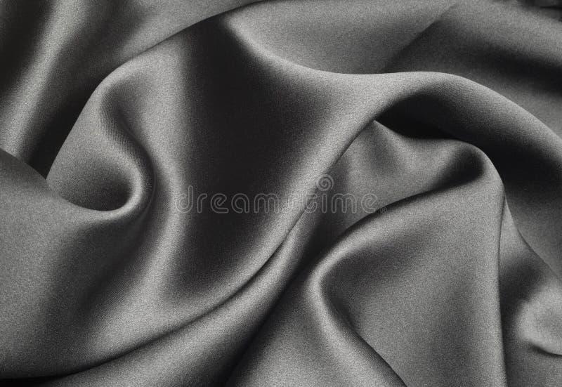 Zwarte zijde stock afbeelding