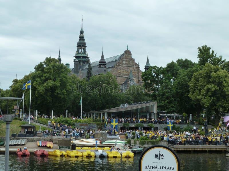 Zweden, Stockholm - Noordse Musem royalty-vrije stock fotografie