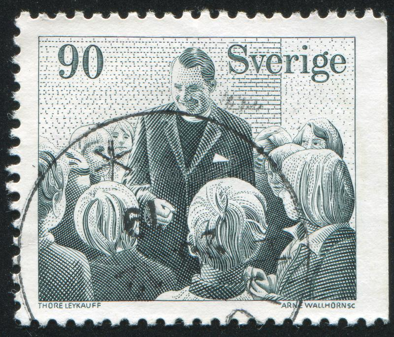 Zweeds Missionary Society stock afbeeldingen