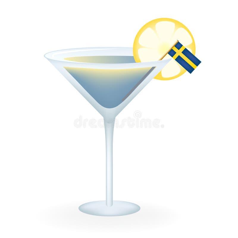 Zweedse Cocktail royalty-vrije stock foto