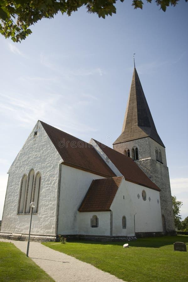 Zweedse kerk royalty-vrije stock afbeeldingen